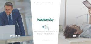Kaspersky Homepage