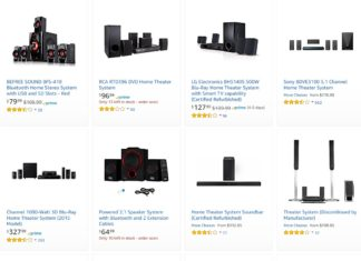 Black Friday Deals on Home Theatre