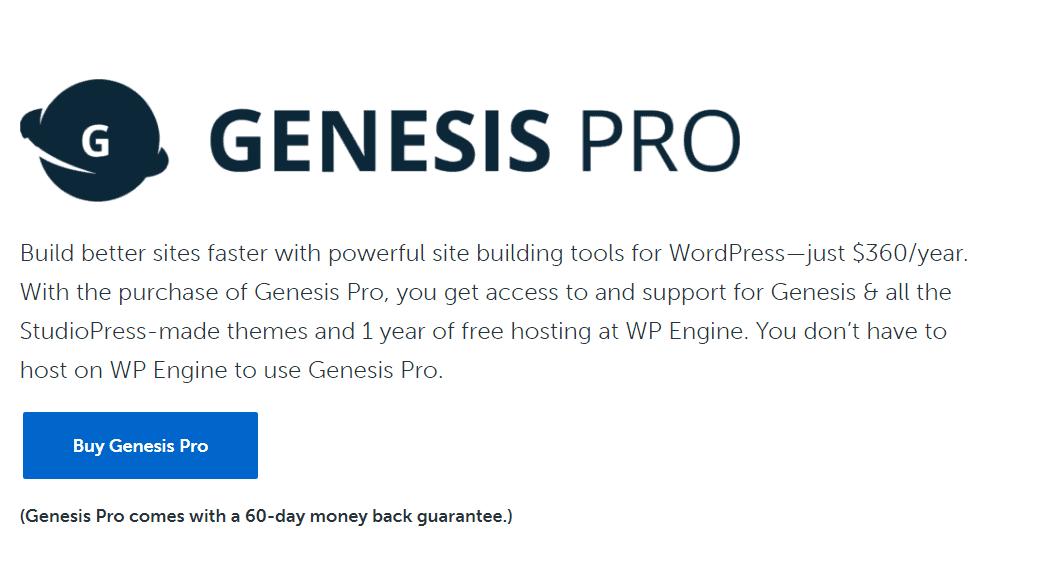 studiopress genesis pro
