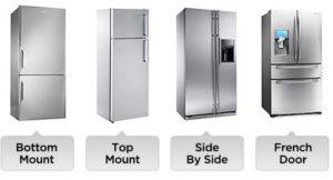 types-of-refrigertor