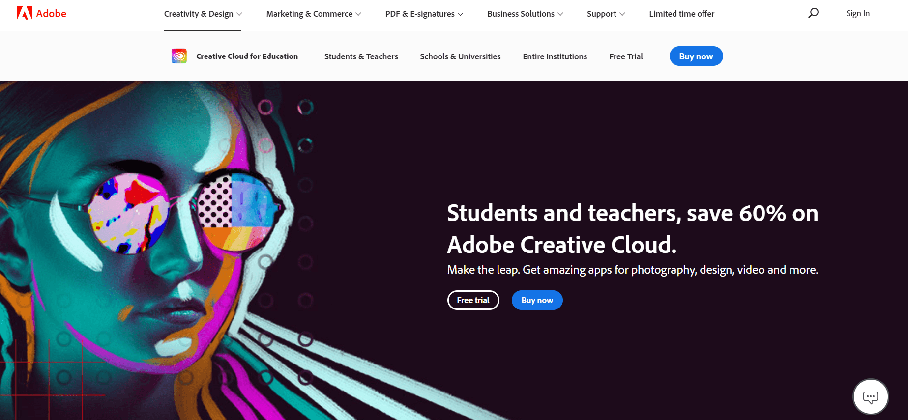 Adobe Black Friday Deals & Sales for Student and Teacher