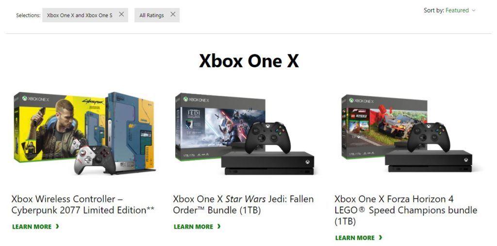 Xbox One X Black Friday Deals