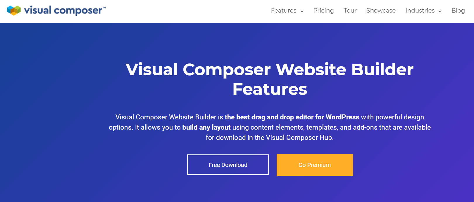 visual composer features