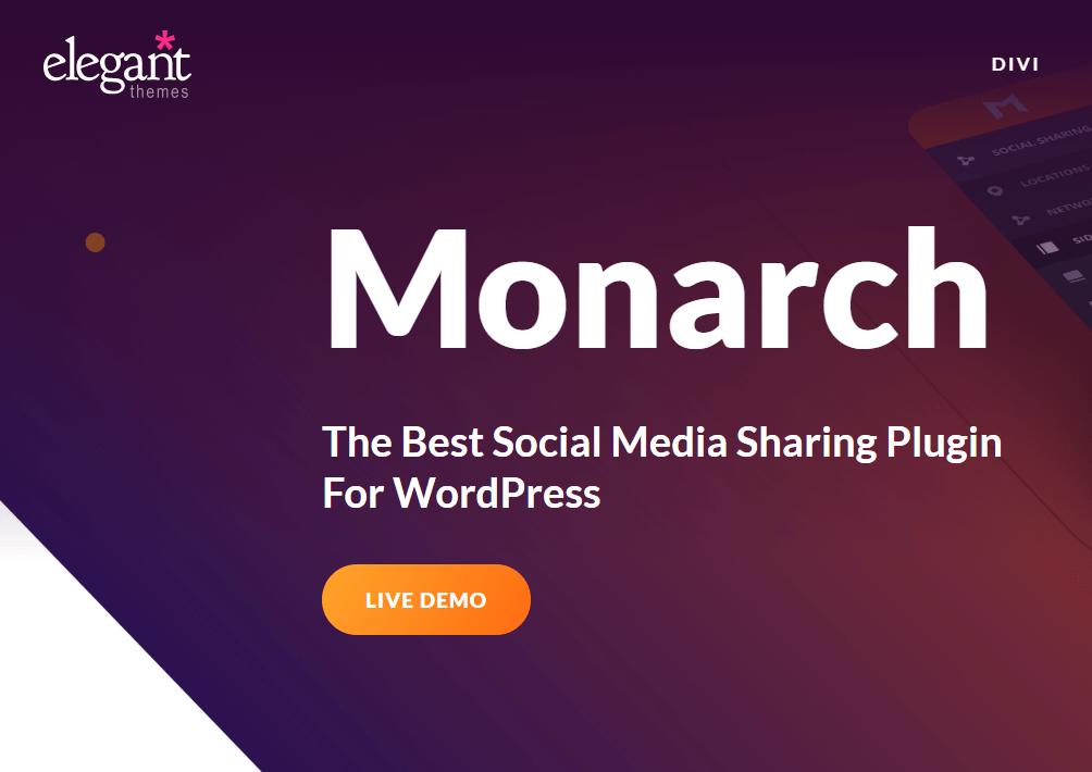 monarch best social media sharing plugin