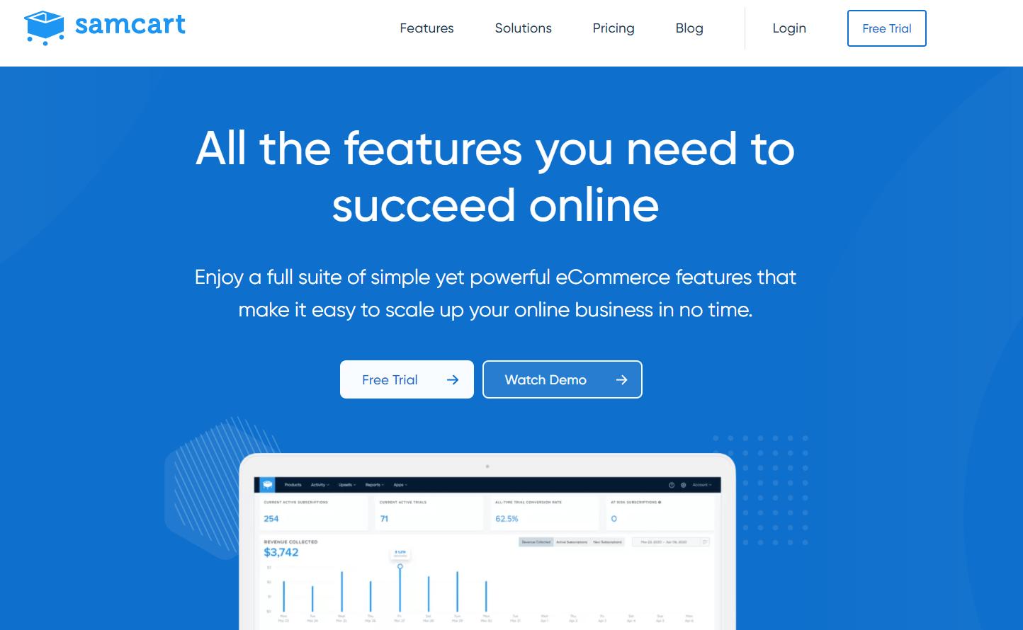 SamCart Features