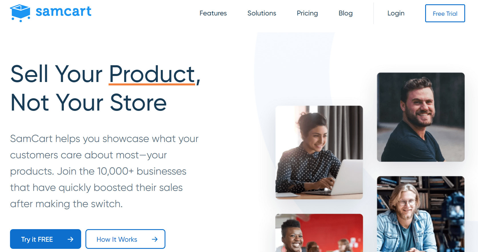 SamCart sell your products