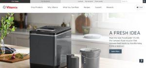 Vitamix Homepage