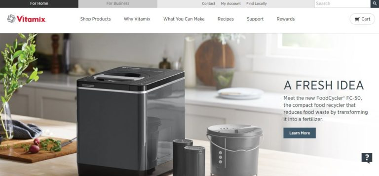 Vitamix Homepage