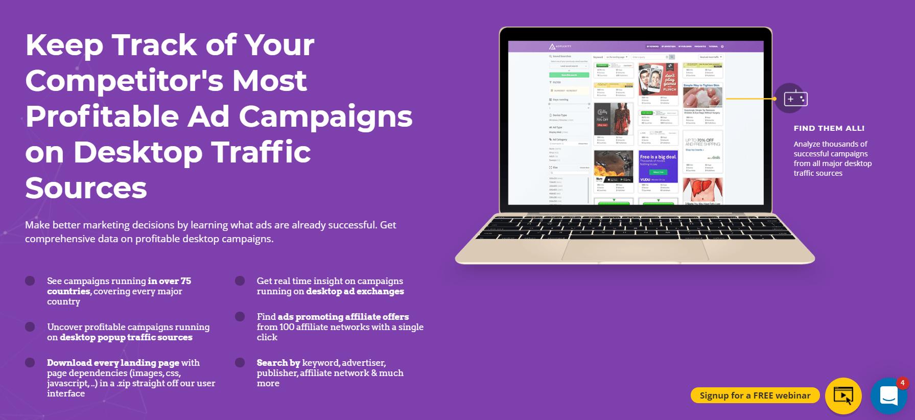 desktop traffic sources
