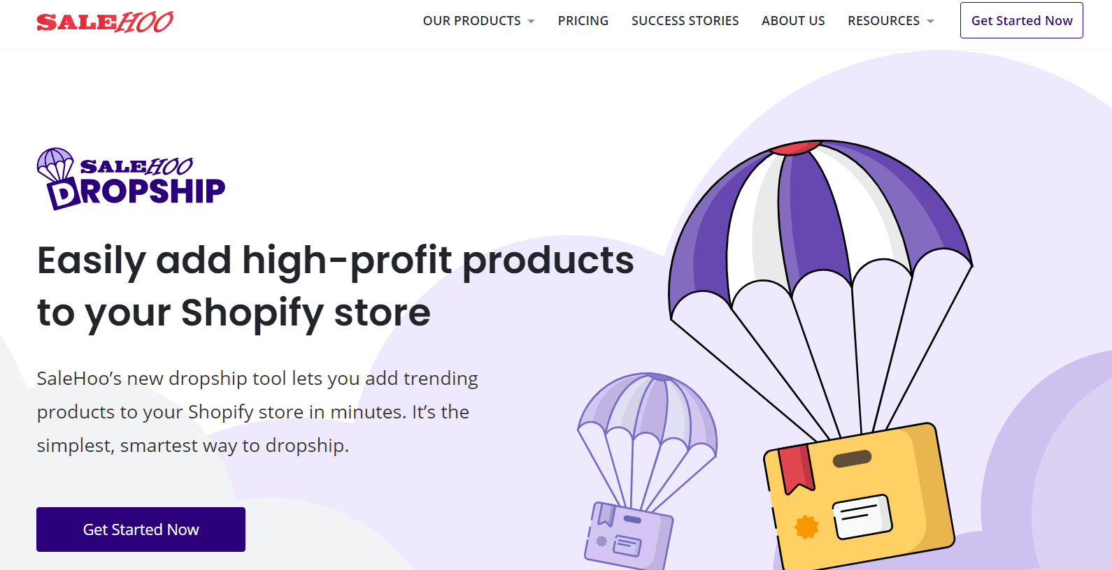 Salehoo dropshipping- add products to shopify store