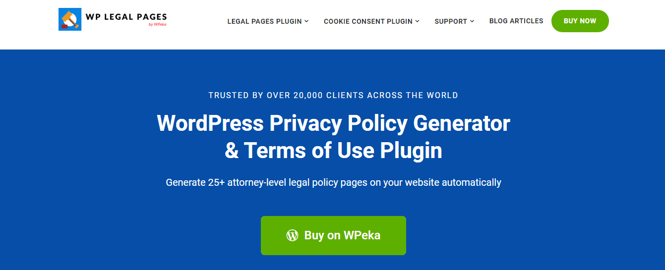 WPeka - WP Legal Pages
