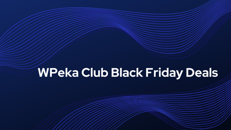 WPeka Club Black Friday Deals
