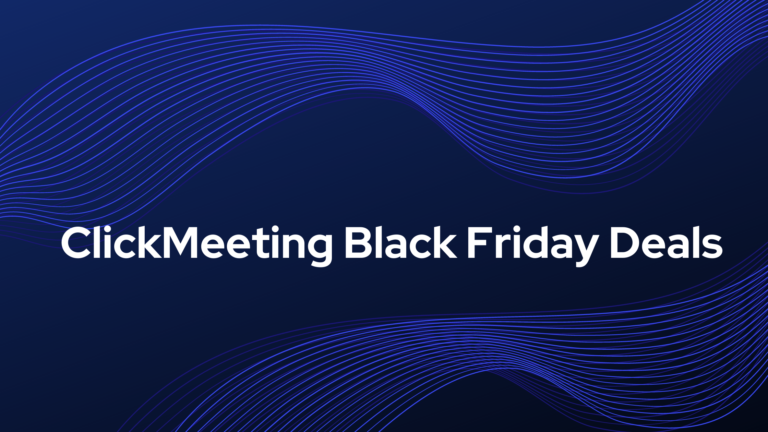 clickmeeting black friday