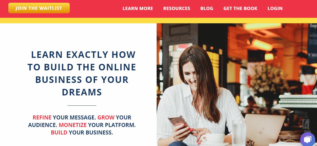 elite blog academy black friday- build your business