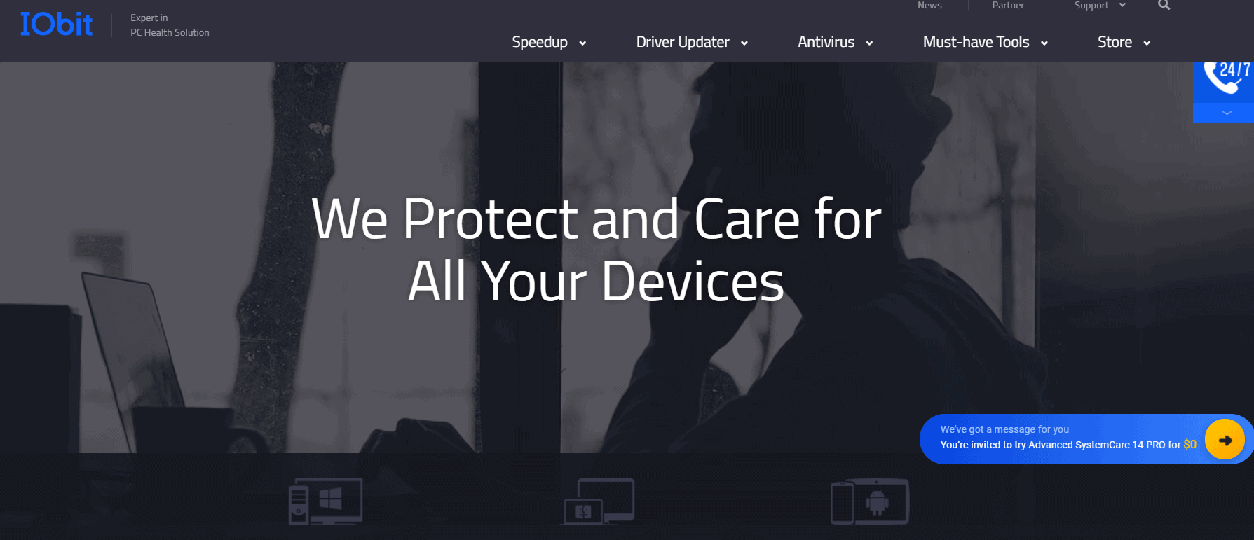 IObit advance system protection