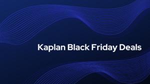 kaplan black friday