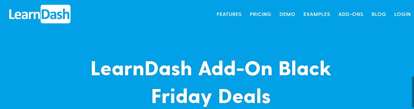 LearnDash Add-On Black Friday
