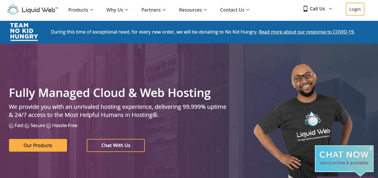 liquid web cloud & web hosting
