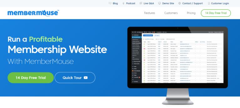 membermouse website plugin