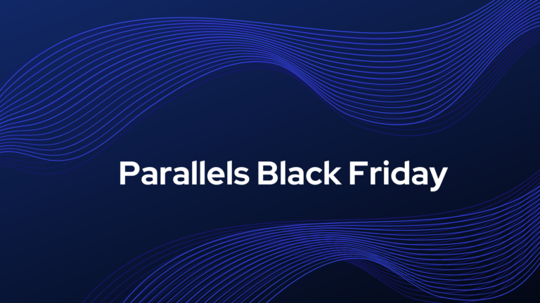 parallels black friday