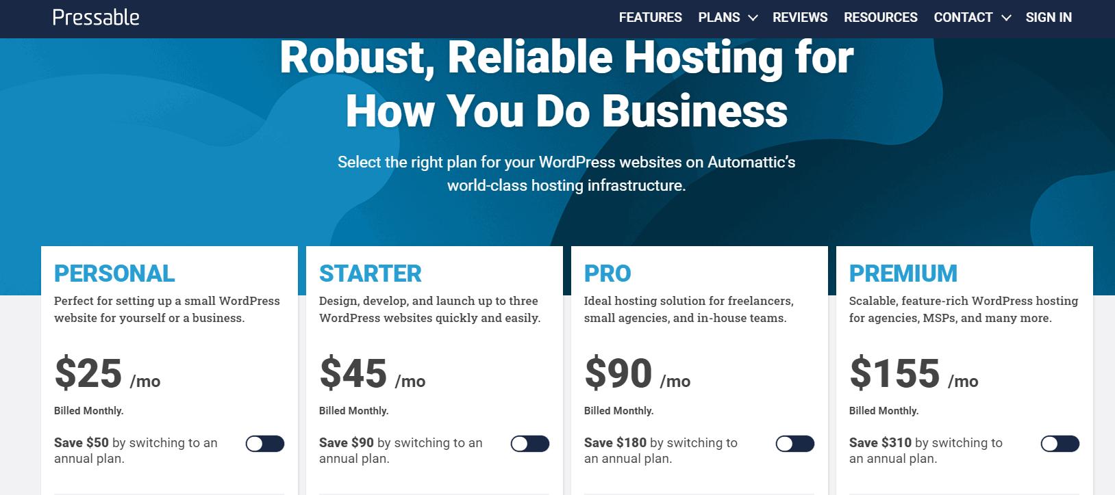 pressable black friday- wordpress hosting