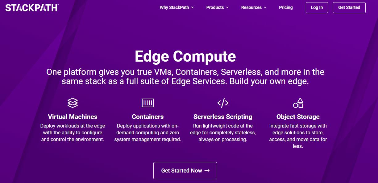 edge compute- Stackpath Black Friday