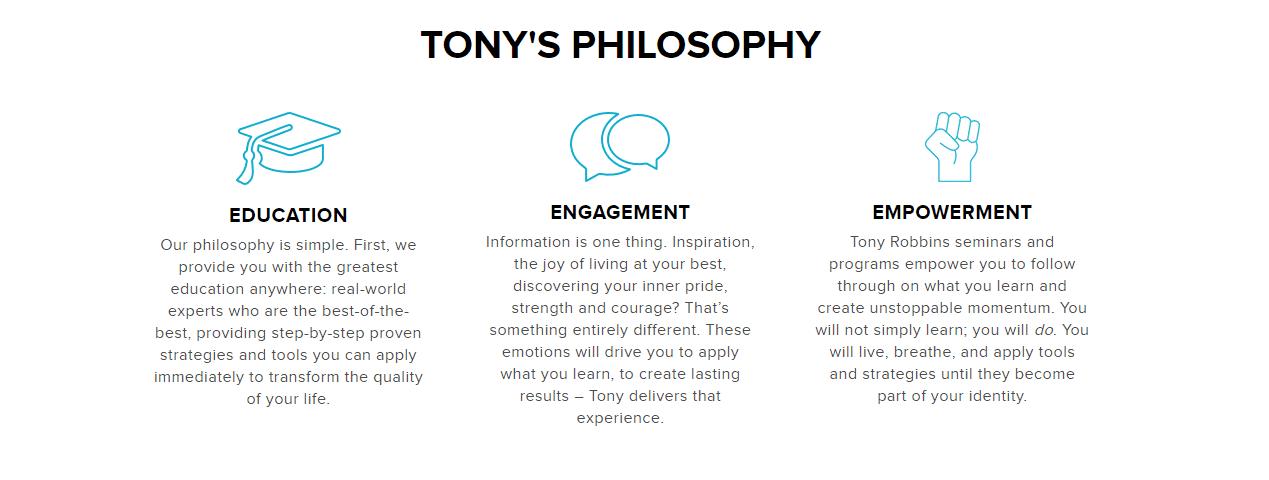 Tonys Philosophy