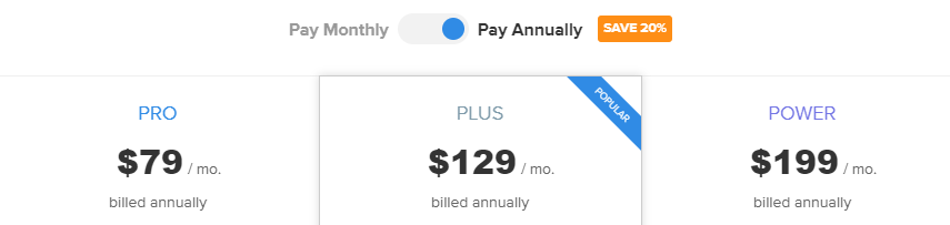webinarninja annual pricing plan