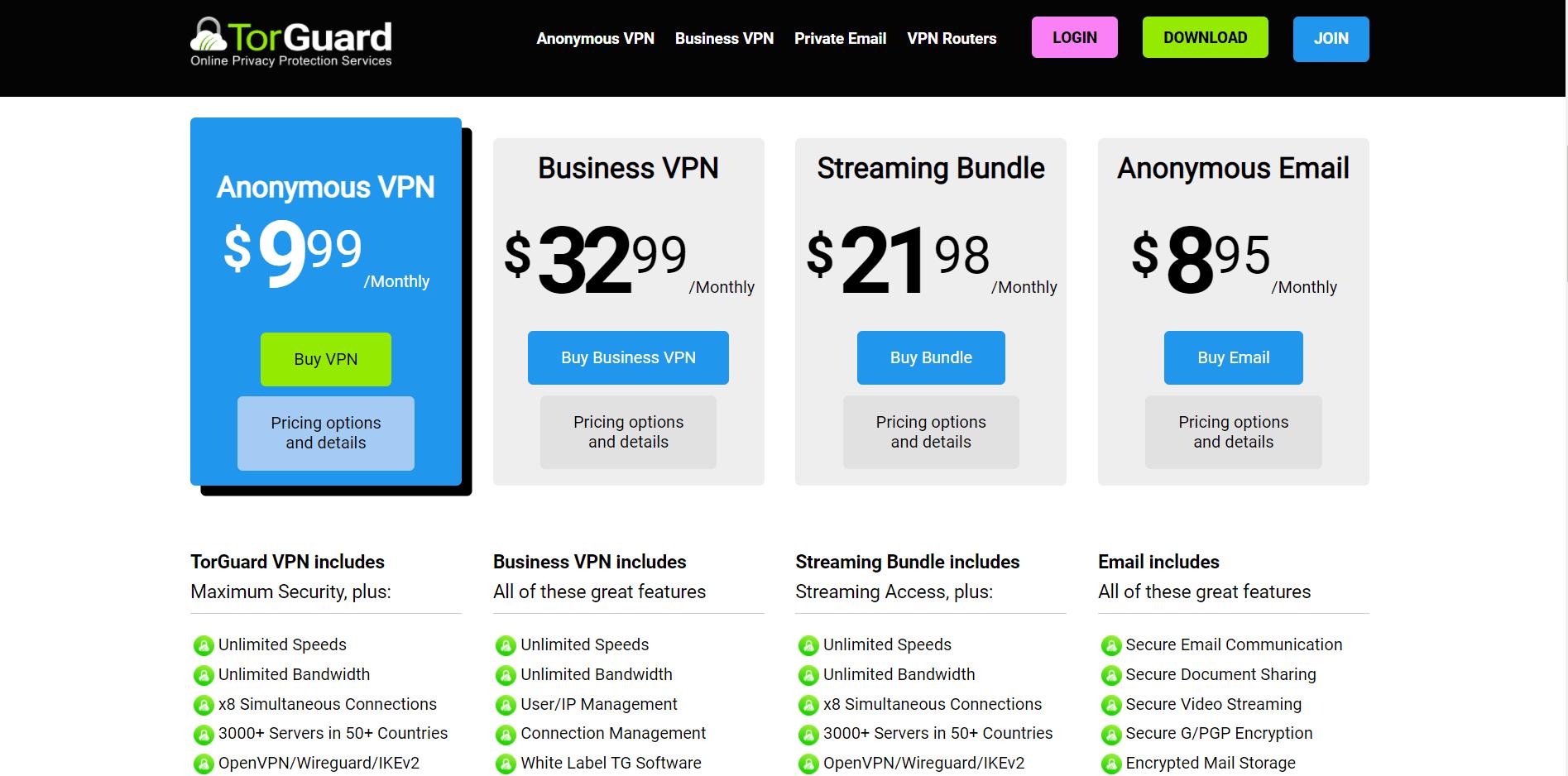 torguard pricing